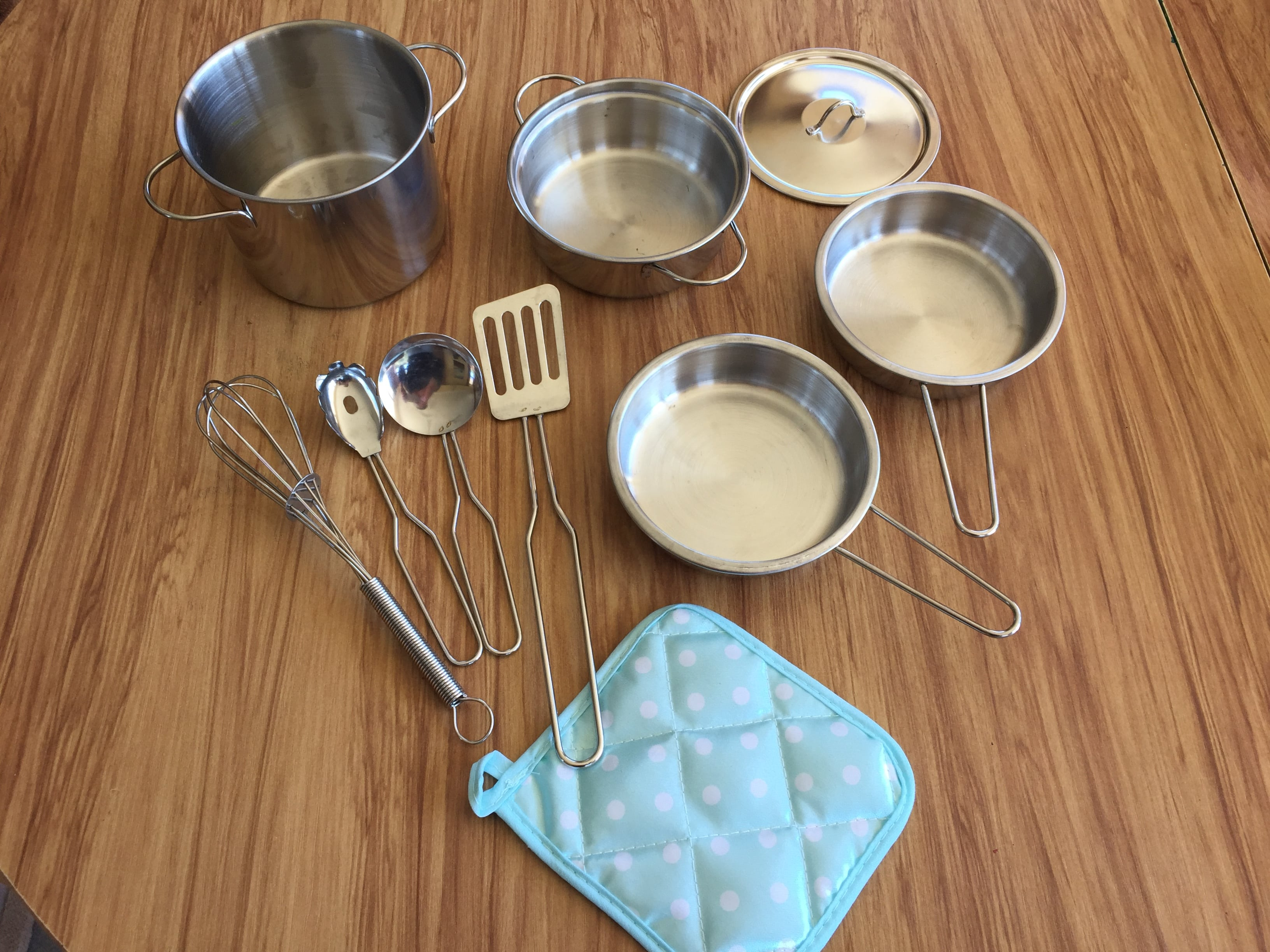 Stainless Steel Cookware Set photo