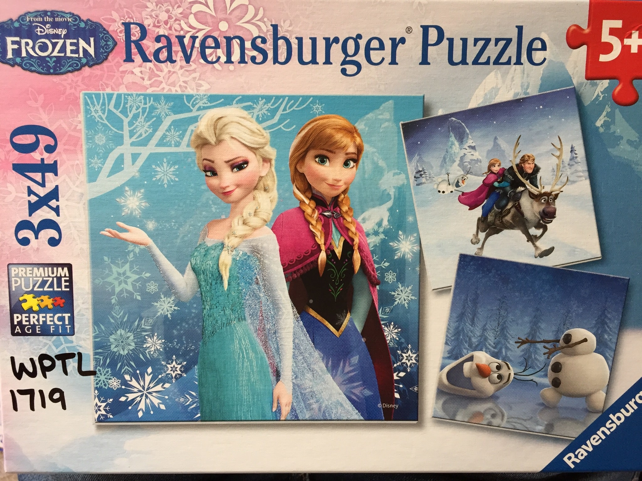 Frozen Puzzle photo