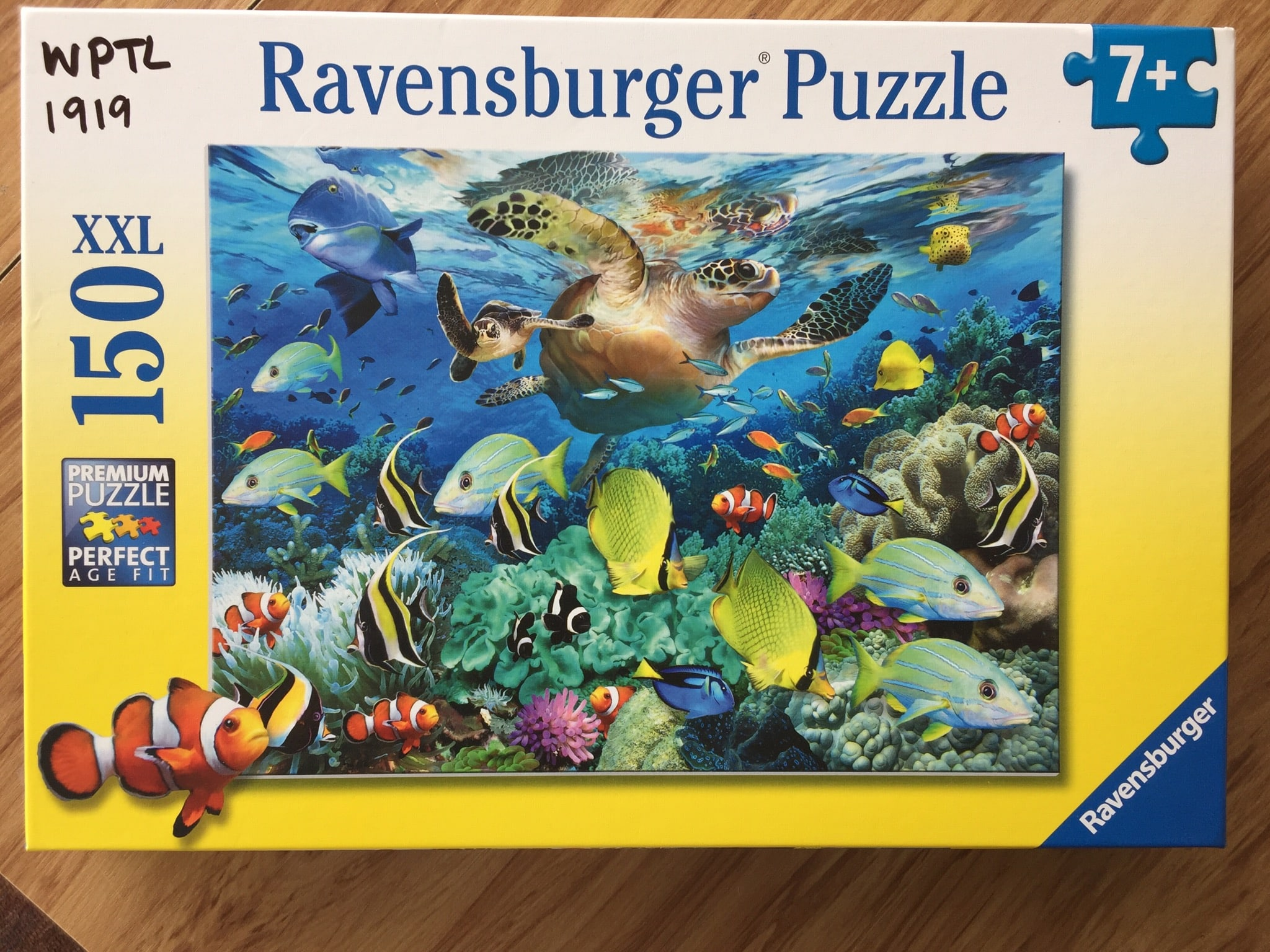 Ocean Puzzle Ravensburger photo