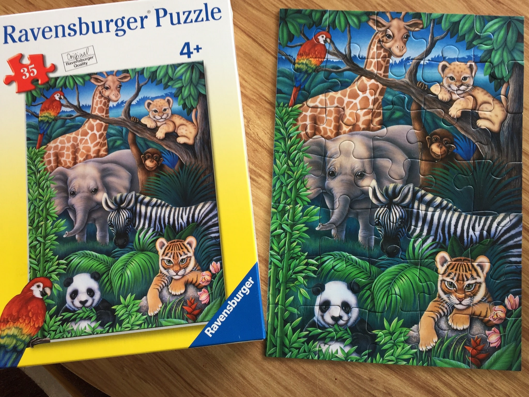 Jungle Animal Puzzle Ravensburger