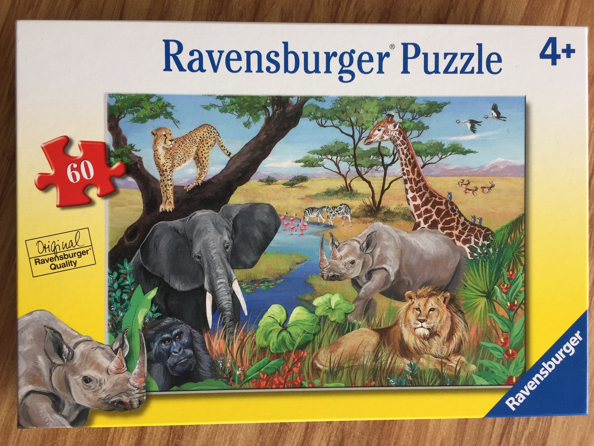 Safari Animal Puzzle